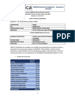 Acta Facturacion Liquidacion PROVISION  Junio - AME