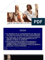 Clase  1. LA FILOSOFÍA,IMPORT. UTILIUDAD