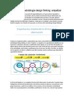 Aplicamos la metodología design thinking