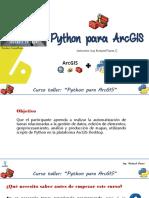 Python Para ArcGIS - Curso Gratis
