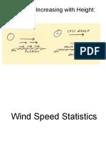 Wind Speed Statistics