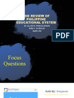 1ST REPORT- REVIEW OF PHIL EDUCATIONAL SYSTEM