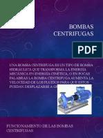 bombas centrifugas(leyes,rendimiento,datos)