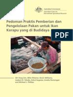 Pengelolaan Pakan Untuk Ikan Kerapu