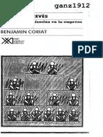 Coriat, Benjamin - Pensar al Revés (Trabajo y Organización en la Empresa Japonesa) (OCR) [por Ganz1912]