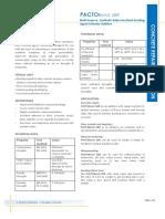 PACTOBond  SBR-Datasheet
