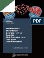EU and Ethnic Minorities in Georgia