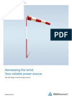 Harnessing the wind. Your reliable power source.