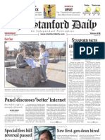 The Stanford Daily, Jan. 19, 2011