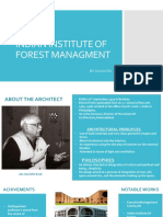 INDIAN INSTITUTE OF FOREST MANAGMENT