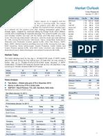Market Outlook 17 01 11