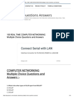 100 REAL TIME COMPUTER NETWORKING Multiple Choice Questions and Answers.pdf