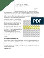 alfaknits.wordpress.com-how to  GRAFT aka KITCHENER STITCH