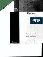 ESPINOSA_ Tratato da Emenda do Intelecto [Texto latino e tradução]