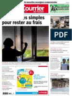 Le Courrier de LOuest Cholet - 7 Août 2020