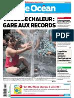 Presse Ocean Nantes 07 Aout 2020 FRENCH PDF