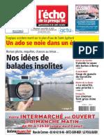 Journal Lecho de La Prequile Du 7 Aout