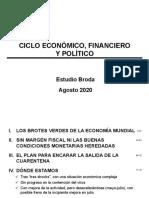 Informe especial sobre la economía mundial - Agosto 2020