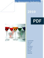 Alcoholic Beverages Industry report