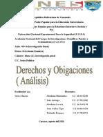 derechos y obligaciones  luis arteaga analisis