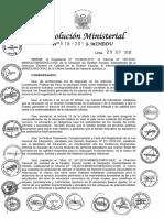 RM N° 518-2018-MINEDU - Secundaria en Alternancia