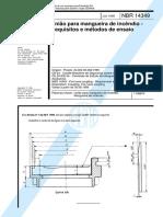 NBR 14349 - União para mangueira de incêndio - Requisitos e métodos de ensaio