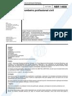 NBR 14608 - BOMBEIRO PROFISSIONAL CIVIL
