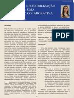 ADEQUAÇÃO E FLEXIBILIZAÇÃO CURRICULAR UMA CONSTRUÇÃO COLABORATIVA POSSÍVEL