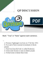 qp discussion