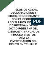 MODELOS ACTAS AUTOAYUDA