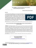 O PLURALISMO JURÍDICO, O TRANSCONSTITUCIONALISMO E COMUNIDADES QUILOMBOLAS