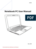 Notebook Pc User Manual g 60