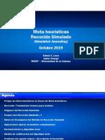 Presentacion Recocido Simulado Javier Arango Rosero y Edwin Shtid Leon Beltran
