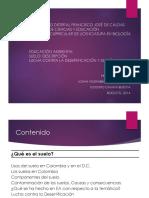 Suelos de Colombia Meteorización, Edafologia y Geologia