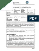 462-Electricidad y Electrónica Básica N+ 2019-2