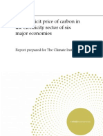 Carbon Pricing Report