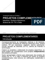 Instalacoes Complementares - TV e Interfone