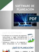 SOFTWARE DE PLANEACIÓN