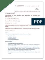 acoustics assignment 4 - 17091AA043 pdf