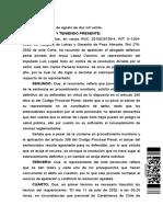 CA Iquique sobreseimiento definitivo 318 sin contagio, peligro concreto vs abstracto