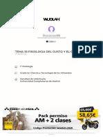 TEMA FISIOLOGÍA DEL GUSTO Y EL OLFATO