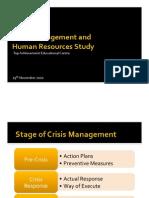 Crisis Management Presentation