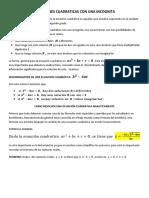 Guía N°3   Ecuacines cuadraticas Pate 1