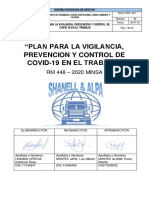 PLAN PARA LA VIGILANCIA, PREVENCIÓN Y CONTROL DEL COVID 19 - SHANELL Y ALPA
