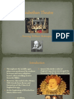 Elizabethan Theater and Shakespeare PowerPoint