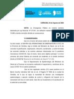 Disposición Nro.  78 - Cordón Sanitario Estricto - Córdoba B° Cañuelas.pdf