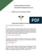 TRABAJO DE MEDICAMENTOS ESENCIALES EN EL SGSS