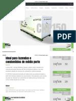 CHP150 – CHP Brasil _ Geradores a gás