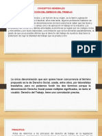 DIAPOSITIVAS DE DERECHO LABORAL I