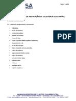 Manual de instalação - ESQUADRIAS